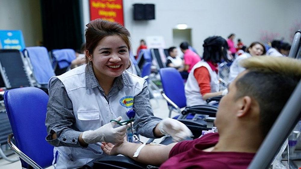 Lễ hội Xuân hồng: Rộn ràng sự kiện hiến máu lớn nhất trong năm